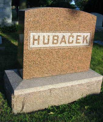 HUBACEK, FAMILY STONE - Linn County, Iowa | FAMILY STONE HUBACEK