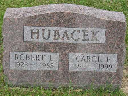 HUBACEK, CAROL E. - Linn County, Iowa   CAROL E. HUBACEK
