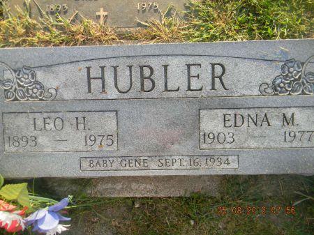 HUBLER, LEO H. - Linn County, Iowa   LEO H. HUBLER