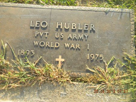 HUBLER, LEO - Linn County, Iowa | LEO HUBLER