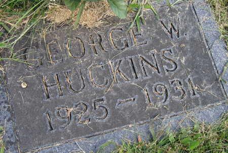 HUCKINS, GEORGE W. - Linn County, Iowa | GEORGE W. HUCKINS