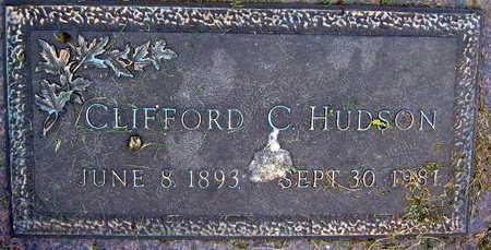 HUDSON, CLIFFORD C. - Linn County, Iowa   CLIFFORD C. HUDSON
