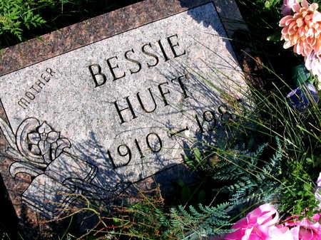 HUFT, BESSIE - Linn County, Iowa | BESSIE HUFT