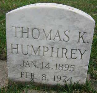 HUMPHREY, THOMAS K. - Linn County, Iowa | THOMAS K. HUMPHREY