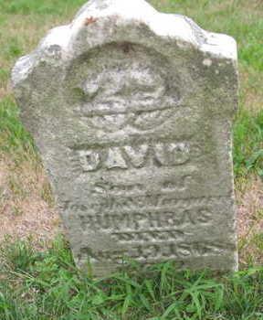 HUMPHRAS, DAVID - Linn County, Iowa   DAVID HUMPHRAS