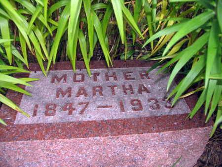 HUMPHREY, MARTHA - Linn County, Iowa | MARTHA HUMPHREY