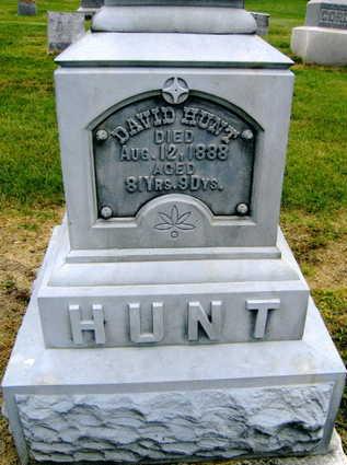 HUNT, DAVID - Linn County, Iowa   DAVID HUNT