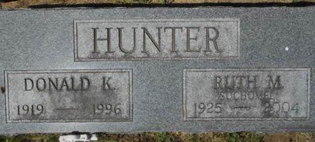 HUNTER, RUTH M. - Linn County, Iowa | RUTH M. HUNTER