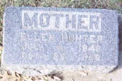 HUNTER, ELLEN - Linn County, Iowa   ELLEN HUNTER