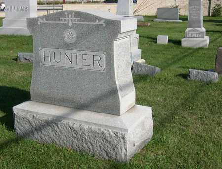 HUNTER, FAMILY STONE - Linn County, Iowa | FAMILY STONE HUNTER