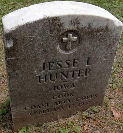 HUNTER, JESSE L. - Linn County, Iowa | JESSE L. HUNTER