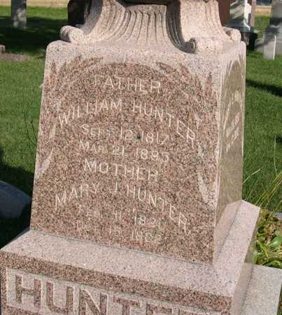 HUNTER, WILLIAM - Linn County, Iowa | WILLIAM HUNTER