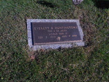 HUNTINGTON, EVERETT R. - Linn County, Iowa | EVERETT R. HUNTINGTON