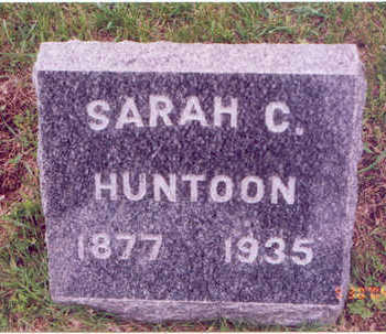 HUNTOON, SARAH C. - Linn County, Iowa | SARAH C. HUNTOON
