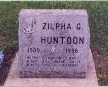 PLUMMER HUNTOON, ZILPHA GENEVIEVE - Linn County, Iowa | ZILPHA GENEVIEVE PLUMMER HUNTOON