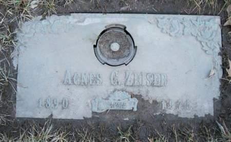 ZEISER HUPP, AGNES C. - Linn County, Iowa | AGNES C. ZEISER HUPP