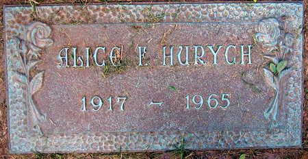 HURYCH, ALICE F. - Linn County, Iowa   ALICE F. HURYCH