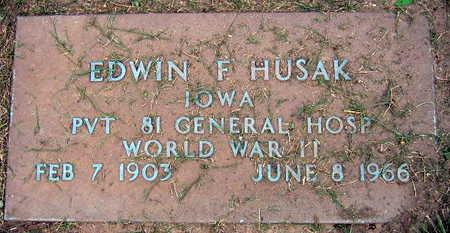 HUSAK, EDWIN F. - Linn County, Iowa | EDWIN F. HUSAK