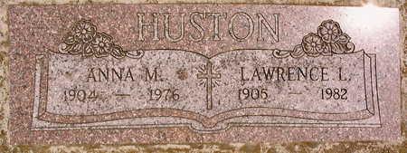 HUSTON, ANNA M. - Linn County, Iowa | ANNA M. HUSTON