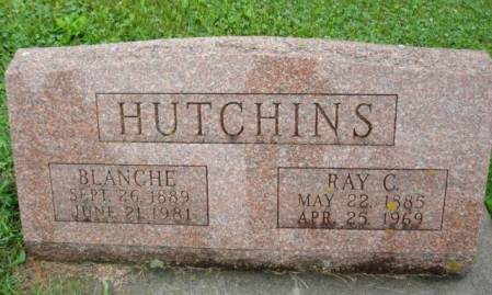 HUTCHINS, RAY C. - Linn County, Iowa | RAY C. HUTCHINS