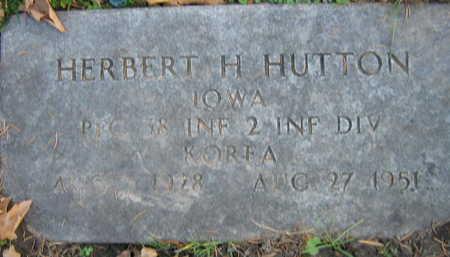HUTTON, HERBERT H. - Linn County, Iowa | HERBERT H. HUTTON
