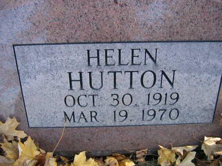 HUTTON, HELEN - Linn County, Iowa | HELEN HUTTON