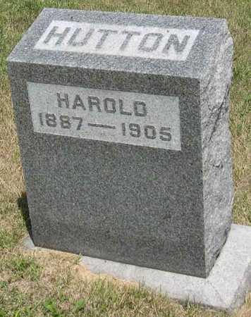 HUTTON, HAROLD - Linn County, Iowa | HAROLD HUTTON