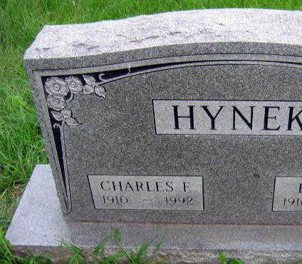 HYNEK, CHARLES F. - Linn County, Iowa | CHARLES F. HYNEK