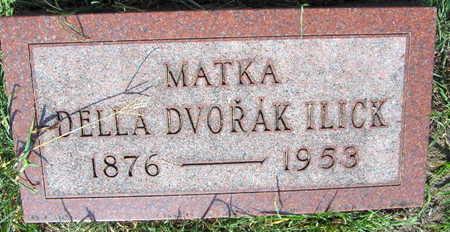 DVORAK ILICK, DELLA - Linn County, Iowa | DELLA DVORAK ILICK