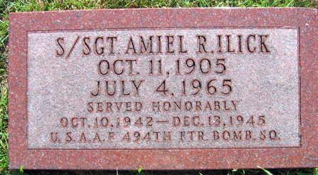 ILICK, AMIEL R., S/SGT - Linn County, Iowa | AMIEL R., S/SGT ILICK