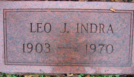 INDRA, LEO J. - Linn County, Iowa   LEO J. INDRA
