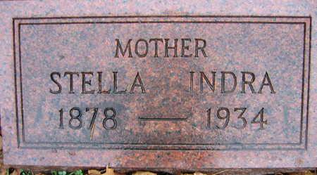 INDRA, STELLA - Linn County, Iowa   STELLA INDRA