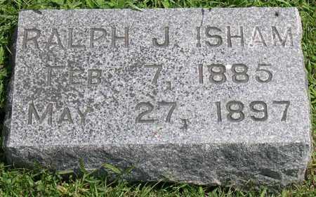 ISHAM, RALPH J. - Linn County, Iowa | RALPH J. ISHAM
