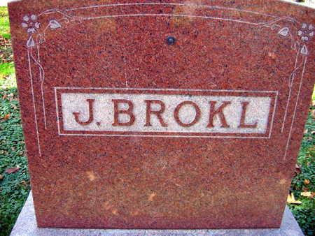 BROKL, FAMILY STONE   (J. BROKL) - Linn County, Iowa   FAMILY STONE   (J. BROKL) BROKL