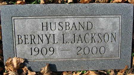 JACKSON, BERNYL L. - Linn County, Iowa | BERNYL L. JACKSON