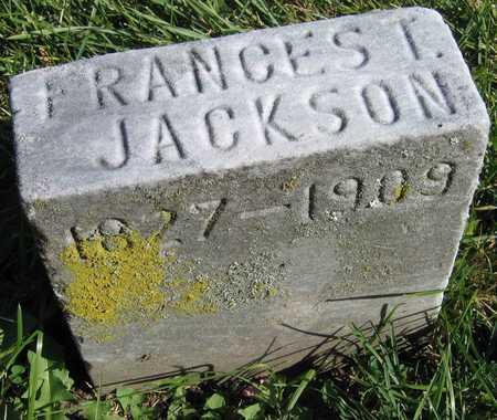 JACKSON, FRANCES T. - Linn County, Iowa | FRANCES T. JACKSON