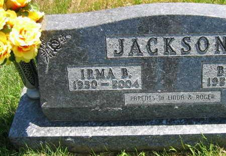 JACKSON, IRMA B. - Linn County, Iowa | IRMA B. JACKSON