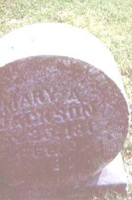 JACKSON, MARY A. - Linn County, Iowa | MARY A. JACKSON