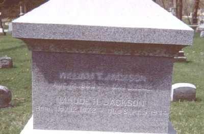 JACKSON, MAUDE H. - Linn County, Iowa | MAUDE H. JACKSON