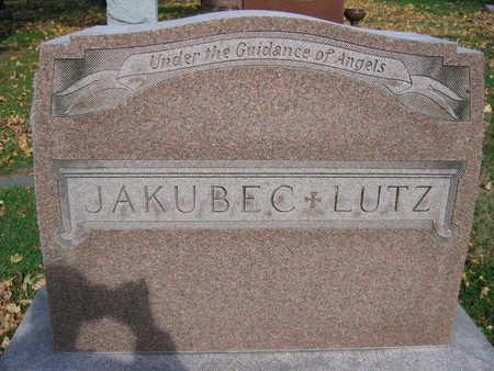 JAKUBEC LUTZ, FAMILY STONE - Linn County, Iowa | FAMILY STONE JAKUBEC LUTZ