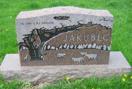 JAKUBEC, FAMILY STONE - Linn County, Iowa | FAMILY STONE JAKUBEC