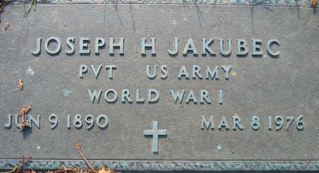 JAKUBEC, JOSEPH H. - Linn County, Iowa   JOSEPH H. JAKUBEC