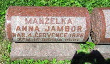 JAMBOR, ANNA - Linn County, Iowa   ANNA JAMBOR