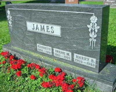 JAMES, HARRY B. - Linn County, Iowa | HARRY B. JAMES
