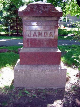 JANDA, FAMILY STONE - Linn County, Iowa | FAMILY STONE JANDA