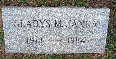 JANDA, GLADYS M. - Linn County, Iowa   GLADYS M. JANDA