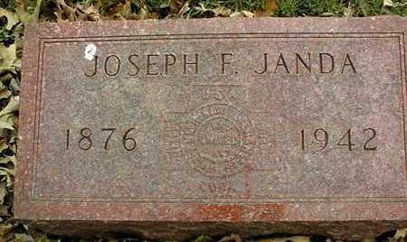 JANDA, JOSEPH F. - Linn County, Iowa | JOSEPH F. JANDA