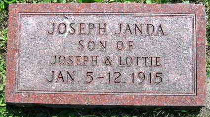 JANDA, JOSEPH - Linn County, Iowa | JOSEPH JANDA