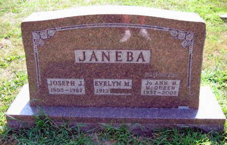 JANEBA, JO ANN - Linn County, Iowa   JO ANN JANEBA