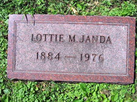 JANDA, LOTTIE M. - Linn County, Iowa | LOTTIE M. JANDA